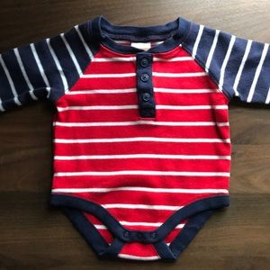 Striped Gymboree Bodysuit (0-3 Months)